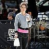 Katie Holmes Leaving the Gym in LA