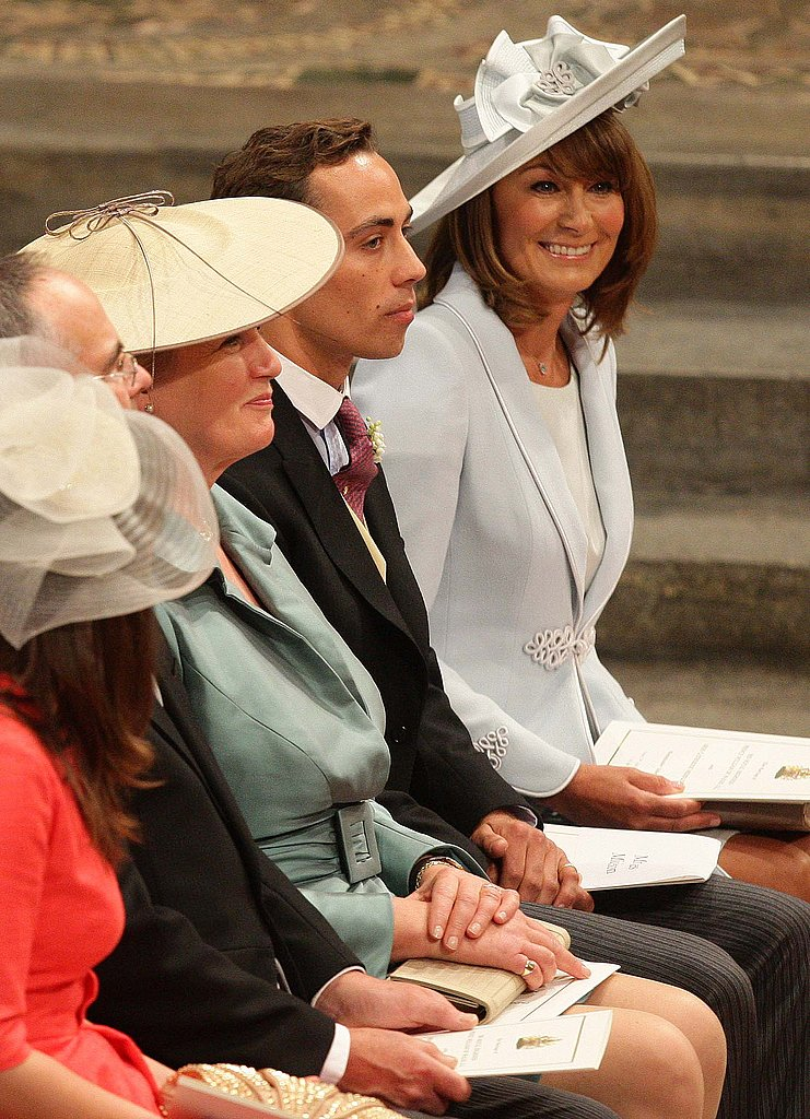 Carole and James Middleton