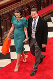 British Prime Minister David Cameron, wife Samantha Cameron