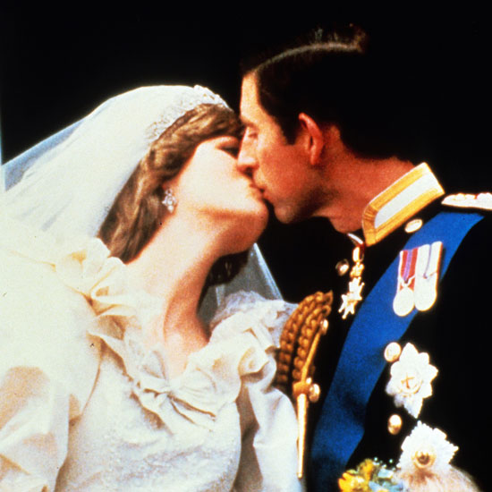Diana and Charles famously kissed on the balcony, beginning the tradition.