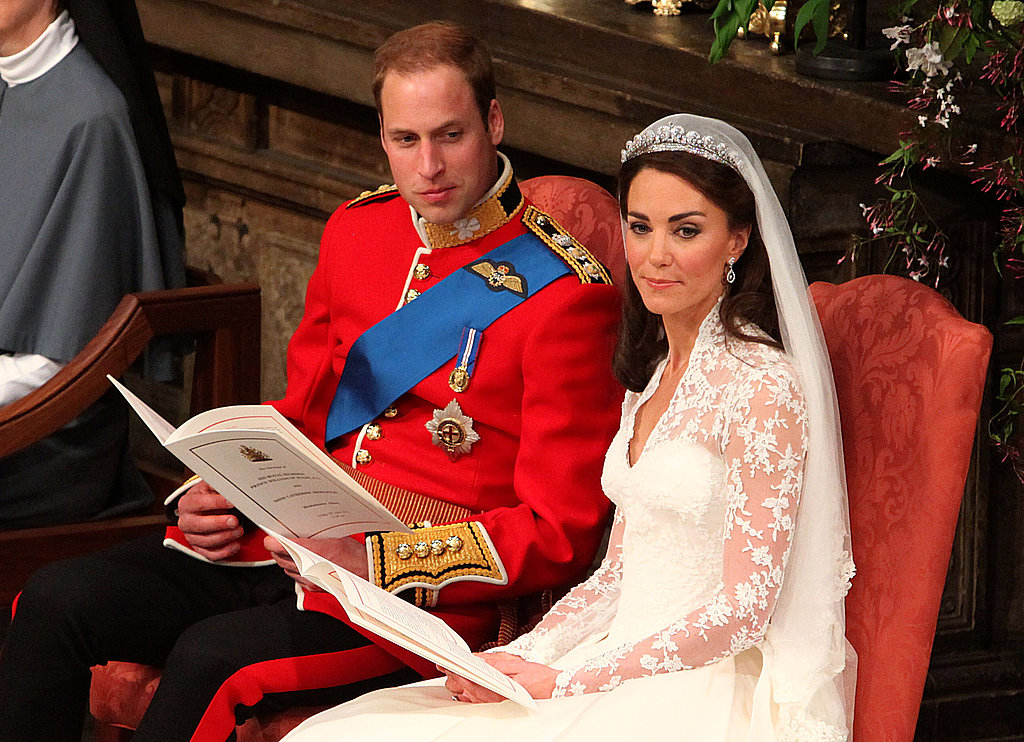 William looked over at Kate.
