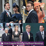 Pictures of Celebrities Arriving at the Royal Wedding