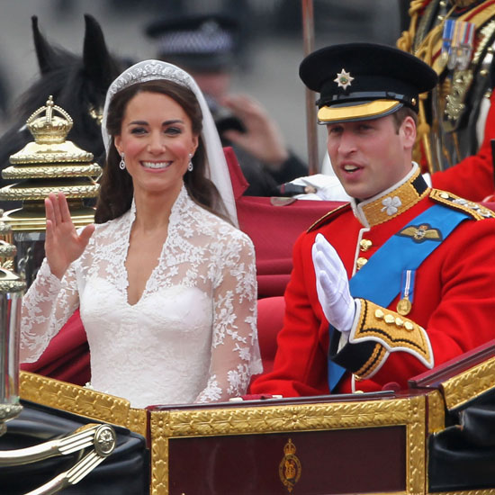 "As Kate and Prince William rode in their carriage to Buckingham Palace Kate said, ""I'm so happy.""  William then said, ""Yes! Yes! It was a beautiful service. It really was. It was amazing. I'm so proud you're my wife."""