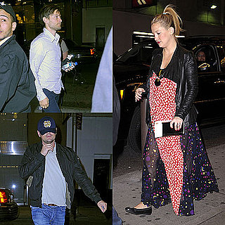 Kate Hudson Pregnant and Engaged Pictures at Book of Mormon in NYC