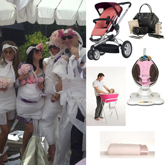 Victoria Beckham's Posh Pink Baby Shower Was Packed With Fabulous Gifts