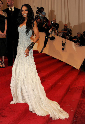 Ciara in Prabal Gurung