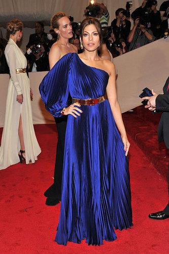 Eva Mendes in Stella McCartney