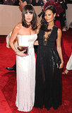 Tamara Mellon with Thandie Newton in Stella McCartney