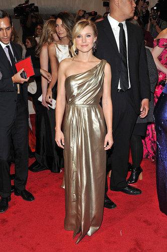 Kristen Bell in Tory Burch