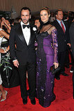 Tom Ford with Carolyn Murphy in his design