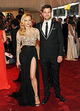 Diane Kruger in Jason Wu, with Joshua Jackson