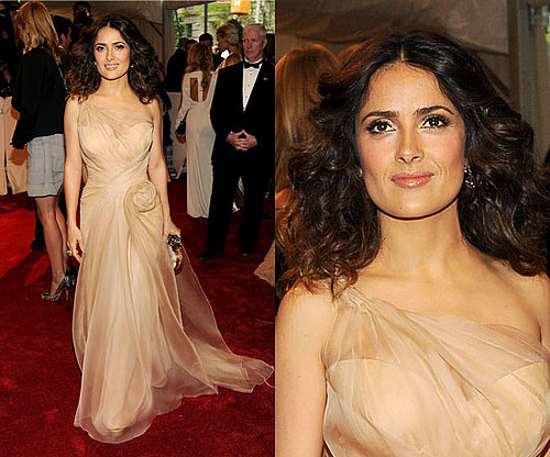 Salma Hayek at the 2011 Met Gala