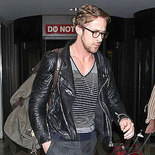 Pictures of Ryan Gosling at LAX