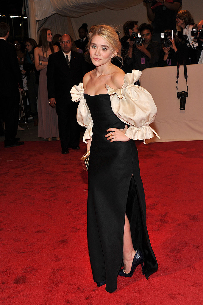 Ashley Olsen Gets Playful in Puffy Sleeves For Met Gala