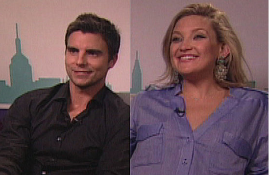 Video: Pregnant Kate Hudson and Colin Egglesfield Talk Onscreen Chemistry