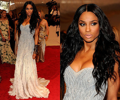 Ciara at the 2011 Met Gala