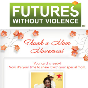 Macy's Mother Day Card Donation Campaign