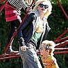 Gwen Stefani Pictures in London With Zuma and Kingston