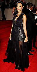 "Thandie Newton(2011 Met Gala...""Alexander McQueen: Savage Beauty"")"