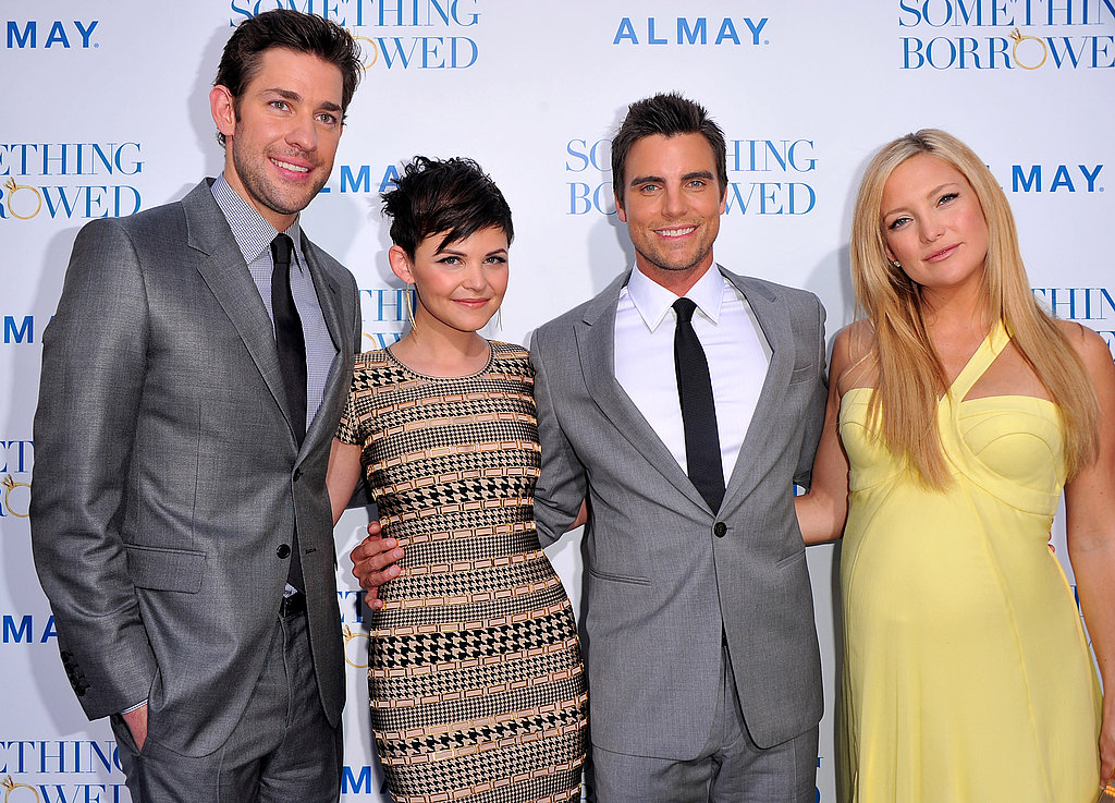 Pictures of Pregnant Kate Hudson, Ginnifer Goodwin, John Krasinski, Colin Egglesfield at Something Borrowed LA Premiere