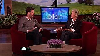 Video of John Krasinski on Ellen DeGeneres on How He Met Emily Blunt
