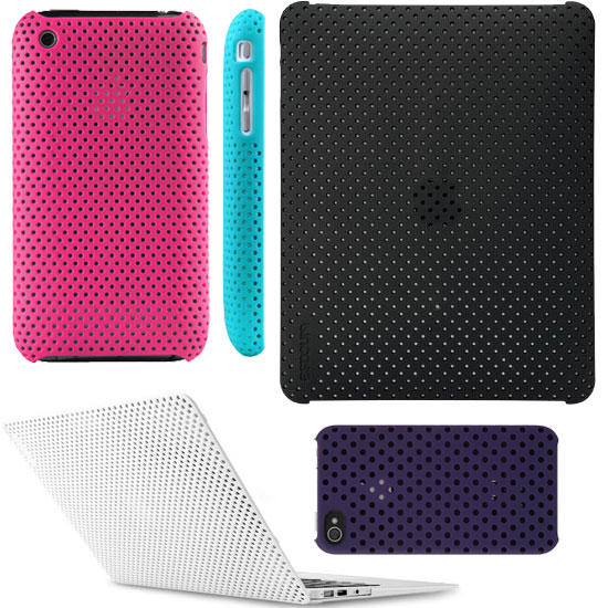Incase Perforated iPhone, iPod Touch, iPad, and MacBook Shells
