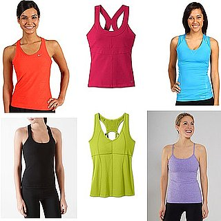 Workout Tops With Built-In Bras