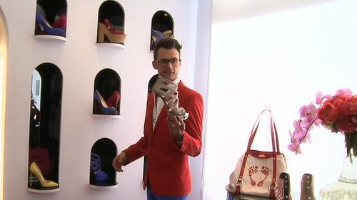 Brad Goreski Talks Spring and Summer Shoes at Christian Louboutin