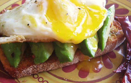 Spicy Avocado Toast with Fried Egg