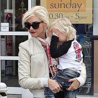 Gwen Stefani Visiting Toys R Us in London With Zuma and Kingston Rossdale