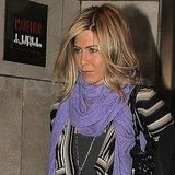 Jennifer Aniston Treats Herself to a French Meal on Cinco de Mayo