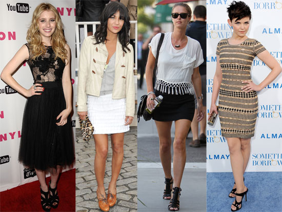 Fab's Top 10 Celebrity Looks of the Week — Nicky, Jessica, Ginnifer, and More!