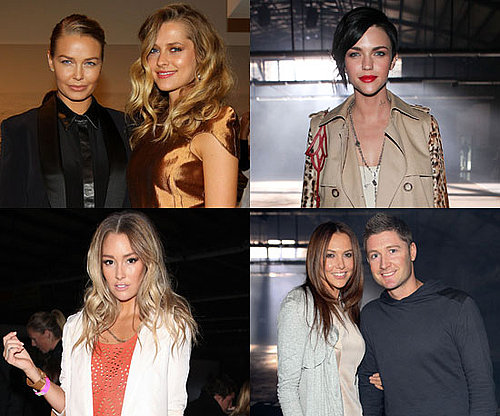 Pictures of Front Row Celebrities From 2011 RAFW Day Four at Ellery and Josh Goot