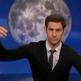 John Krasinski Walks Like a Marionette on Conan O'Brien