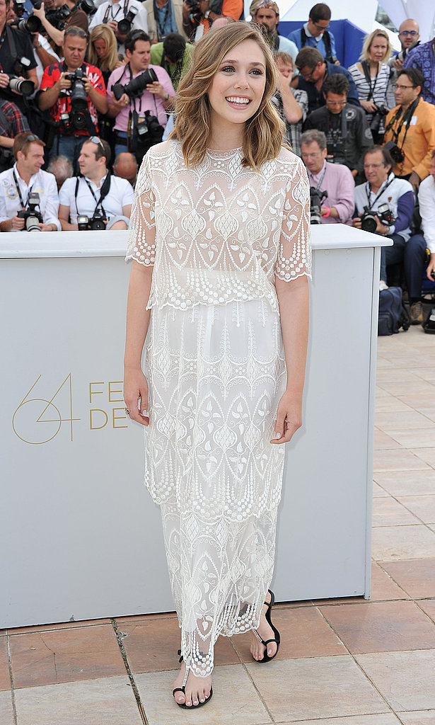 Elizabeth Olsen Hits Cannes in Designs From Sisters Mary-Kate and Ashley