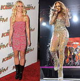 Pictures of Britney Spears and Jennifer Lopez at Wango Tango