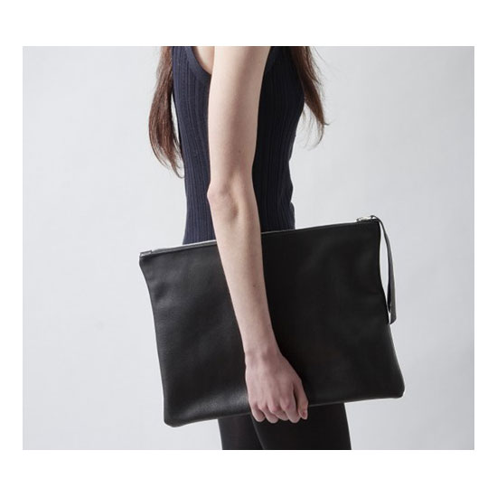 Portfolio Sleeve Laptop Clutch ($150)