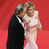 Richard Perry and Jane Fonda