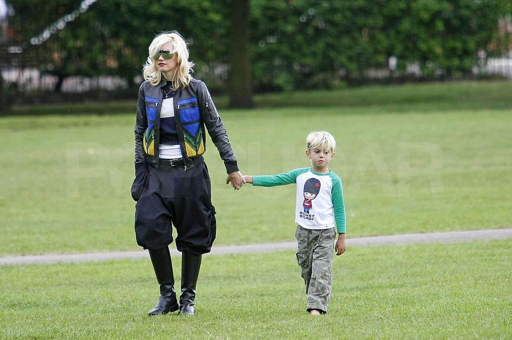 Gavin, Kingston, and Zuma Celebrate Gwen With a Mother's Day in the Park