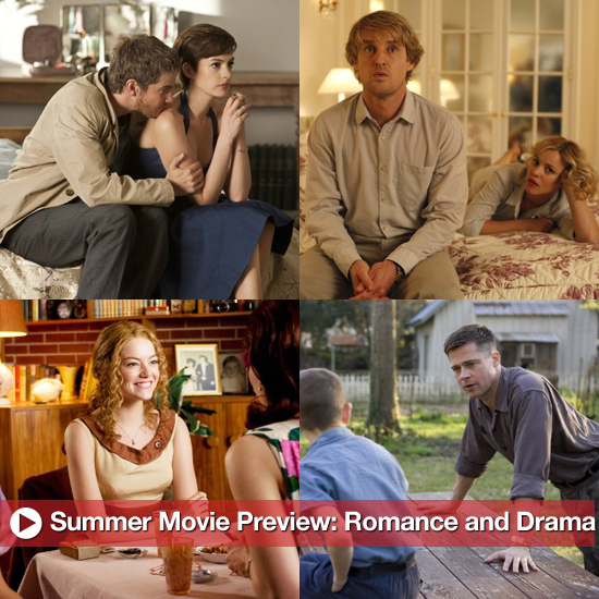 Summer Movie Preview: Romance and Drama