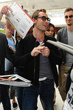 Jude Law Receives a Warm Welcome by Fans to Cannes