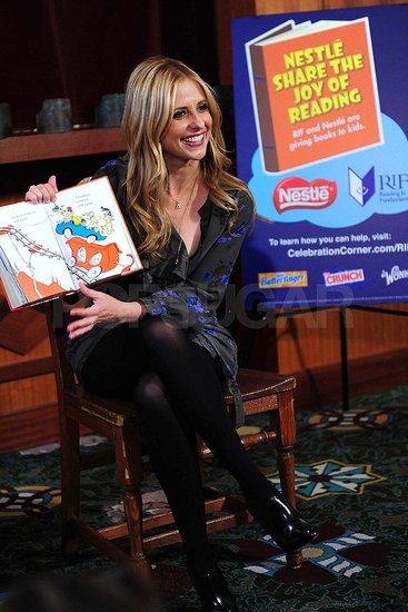 Sarah Michelle Gellar Tackles Dr. Seuss and Talks Buffy