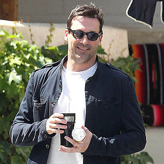 Pictures of Jon Hamm in LA
