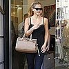 Bar Refaeli Pictures Shopping in Berlin
