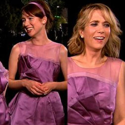 Video Behind the Scenes on Bridesmaids Set With Kristen Wiiig, Maya Rudolph, Rose Byrne