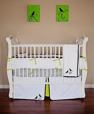 Singing Birds Crib Linens ($622)