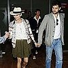 Diane Kruger Pictures Landing at Cannes With Joshua Jackson