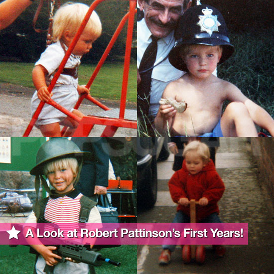 Robert Pattinson Childhood Photos