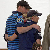 Zara and her cousin Prince William shared a family moment at a horse competition last year.