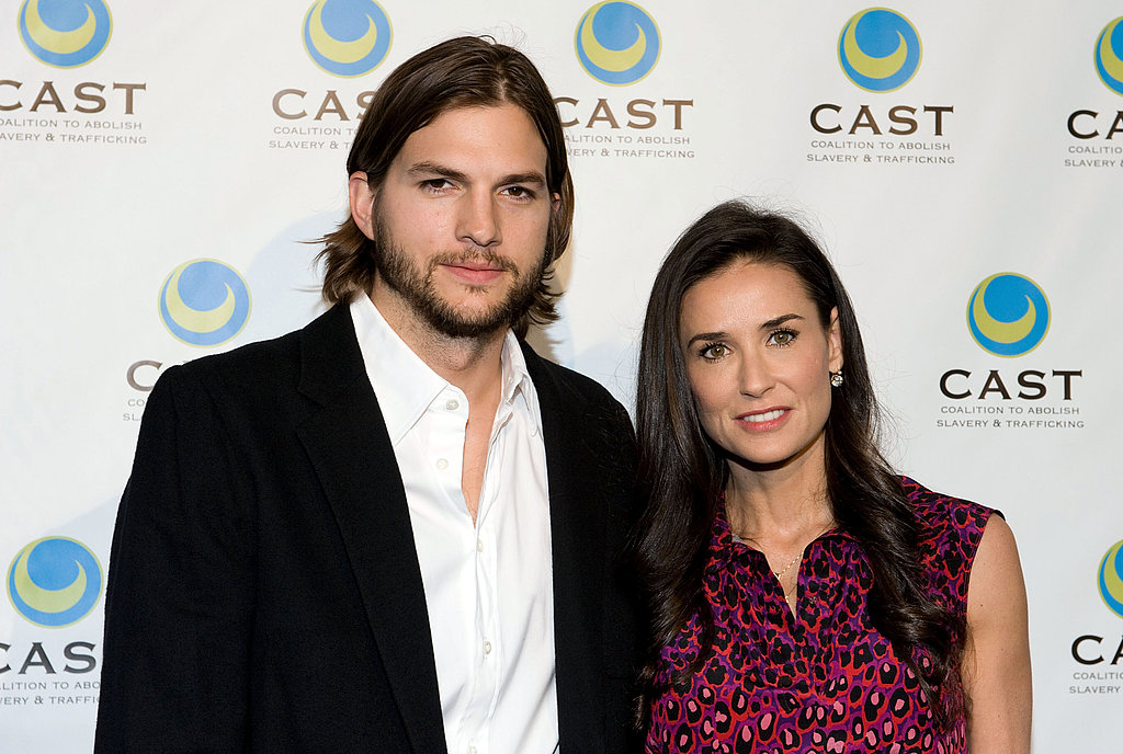 Ashton Kutcher and Demi Moore Step Out Amid Two and a Half Men Buzz